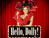 Graphic ad: Hello, Dolly!
