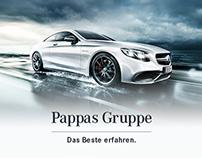 Pappas Gruppe - Corporate Website