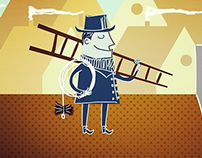 Character Design: 'Schoorsteenveger' (2014)
