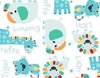 Edgars Zerbit Newborn Boys Safari Layette