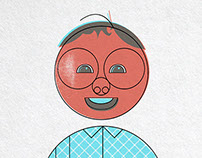 Character Design: owner print shop (2014)