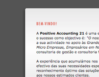Positive Accounting 21 // Website