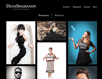 Adaptive website of the photographer