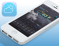 Concept Design For Weather App