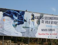 """Outdoor """"Novos Cursos"""" ESVV"""