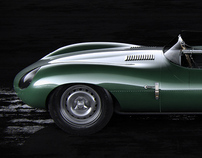 Jaguar D-Type Longnose 1954