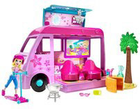 Polly Pocket - Pop Up Glamper Van