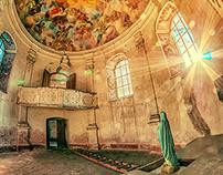 Dwór Sarny : Schloss Scharfeneck