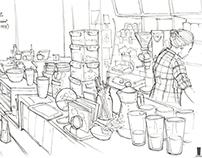 Life Sketching ( Melbourne & Bangkok)