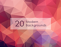 Modern Backgrounds Freebie