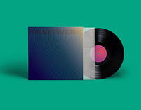 vinyl cover design – Kraftwerk
