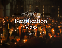 Opener for Beatification Mass