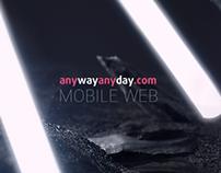 Anywayanyday mobile web