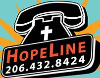 HopeLine logo