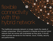 Orange Business Services Hybrid Network Infographic