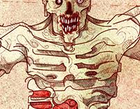 Vitruvian Zombie