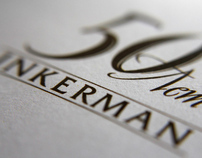 "-Invitation card- ""50 Years of Inkerman Vintage Winery"""