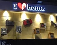 I Love Home / window