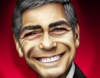 Scott Cosgrove illustrates Obama with unique style