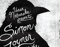 Simon Joyner Kill County Poster & Facebook Cover
