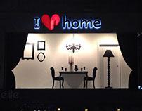 I Love Home / window 2