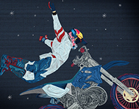 Red Bull X-Fighters Póster