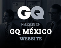 GQ México Website