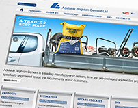 Adelaide Brighton Cement - Website