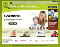 Thanks and Giving website