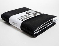 Fabric Book - Little Black & White Friends