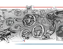 Sketchs Peugeot 2014