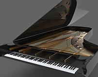 Work in Progress!! Bechstein Grand Piano