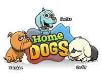 """Home Dogs"" Iphone Game."