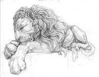 Canova's Lion
