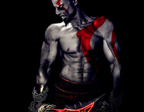 Kratos, the God of War