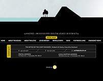 Levee Board Website Design