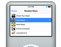 Ipod Classic Interface