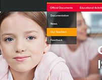 Licey 86 School Website Design