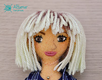 Mari. Handmade Custom Doll