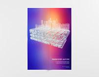 Silicon City Exhibition Poster