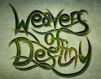Weavers of Destiny Typography