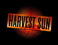 Swedish rock group Harvest Sun logo.