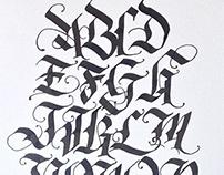 Calligraphy Skethbook 2014
