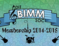 BIMM Society Membership Cards 2014