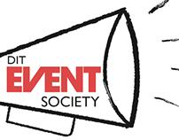 DIT Event Society Branding