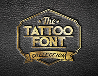the TATTOO FONT COLLECTION - Francesco Baj&Luigi Bizzo