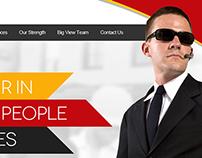 Security Service Website