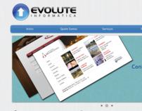 Evolute Informatica Site