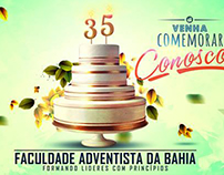 Outdoor art for promoting the anniversary of Adventist