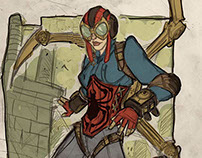 Steampunk Lady Spider (Marvel Comics)